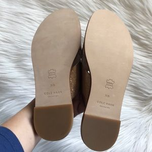 e99dbb53978 Cole Haan Shoes - Cole Haan Anica Criss Cross Sandal Gold Metallic
